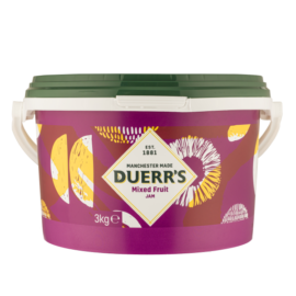 Duerrs Mixed Fruit Jam Catering Pack 3kg
