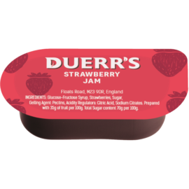 Duerrs Strawberry Jam Portion