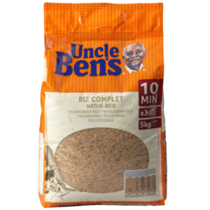 Uncle Ben's Wholegrain rice 5kg