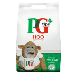 pg tips one cup 1100 pyramid tea bags