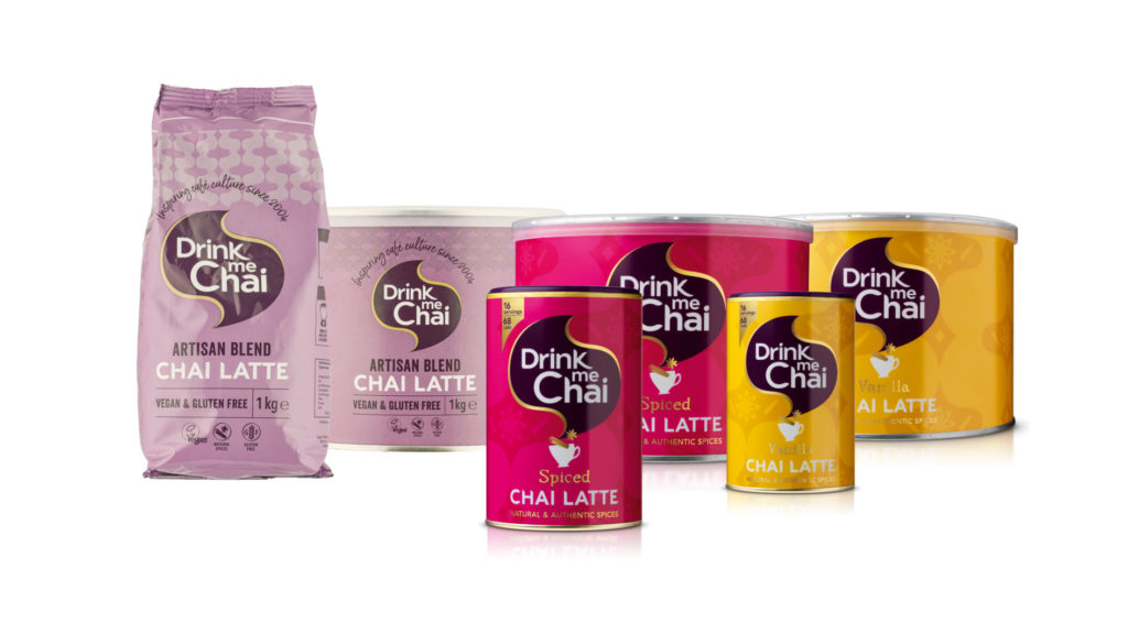 drink me chai range visual